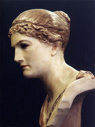 Cassandra statue