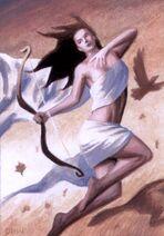 Artemis-goddess of the hunt