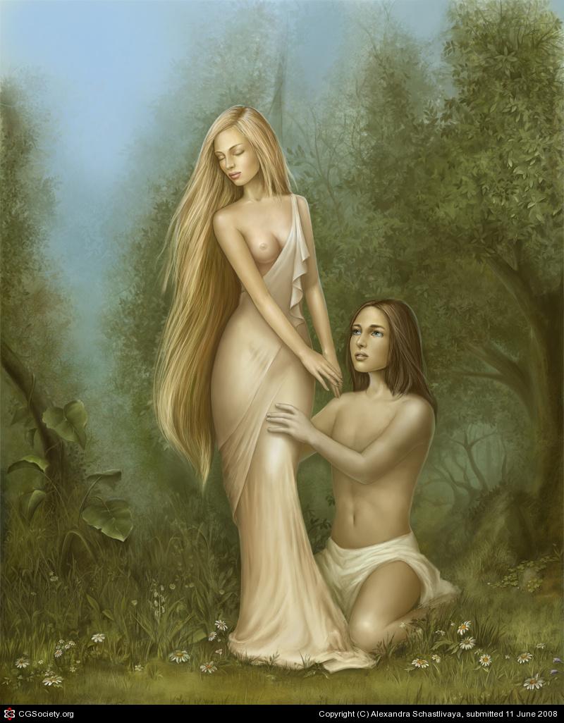 Greek goddesses nude