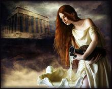 Panacea Goddess of Healing by violscraper