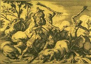Bauer - Caeneus Centaurs