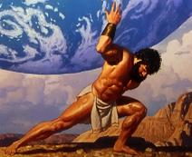 ATLAS EL PODEROSO ∞ (TiTAN-DiOS DE LA FUERZA) 24