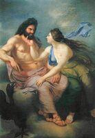 Zeus and thetis