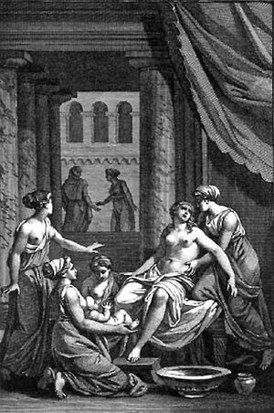 Birth of heracles