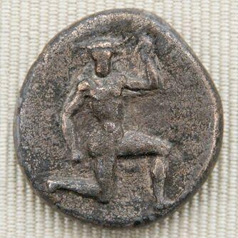 Didrachm Knossos 425-360BC obverse CdM Paris
