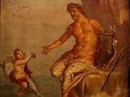 Affreschi romani - polifemo galatea - pompei
