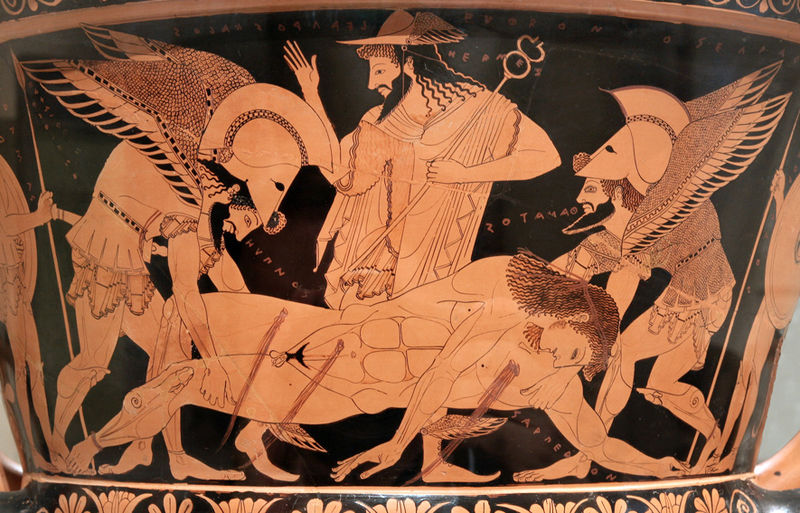 an analysis of the role of hades in the mythology of ancient greece