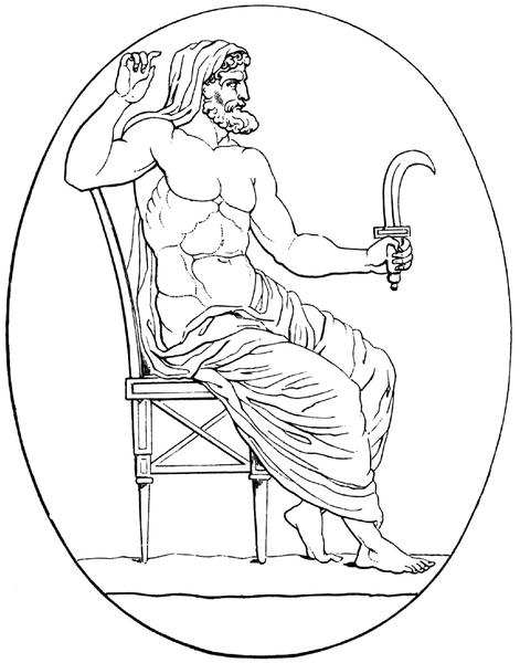 Kronos Greek Mythology Wiki Fandom Powered By Wikia