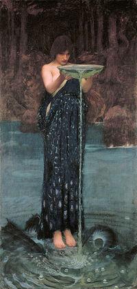 Circe Invidiosa - John William Waterhouse