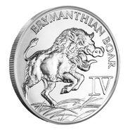 1-oz-hercules-fourth-labor-erymanthian-boar-silver-round-f1f