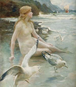 Norman Prescott-Davies - Sea Nymph 1904