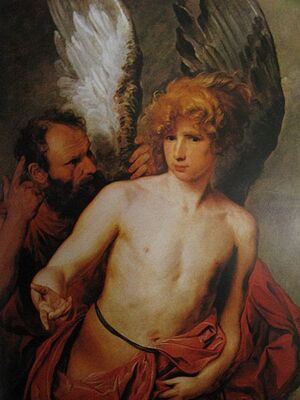 Daedalus and Icarus, by van Dyck