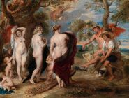 Peter Paul Rubens - The Judgment of Paris (1630s)