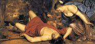Aphrodite Mourning Adonis