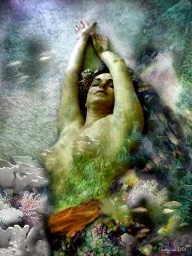 Sea goddess by russhorseman