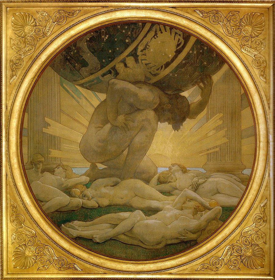 Atlas Greek Mythology Wiki Fandom Powered By Wikia