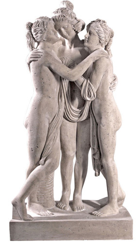 Three-Graces-Life-Size-Garden-Sculpture