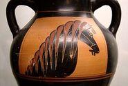 Horse-head amphora Staatliche Antikensammlungen 1362 side A