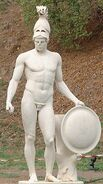 Ares Mars Greek God Statue 01
