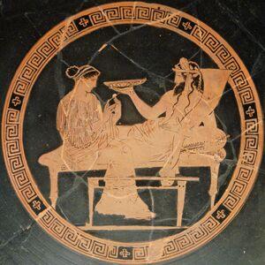 Persephone Hades BM Vase E82