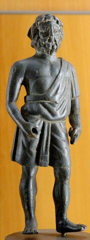 Statuette Vulcanus MBA Lyon A1981