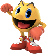 Pac-Man character art - The Adventure Begins