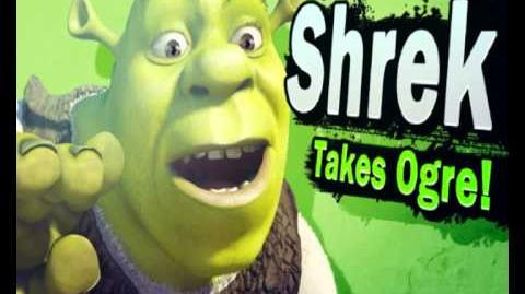 Shrek reveal trailer - Super Smash Bros For Wii U and 3ds
