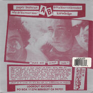 Slappy - Back Cover