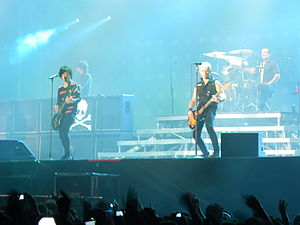 Green day Live 5 june 2013 in Rome (1)