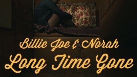 Billie Joe Armstrong & Norah Jones - Long Time Gone (Lyric Video )