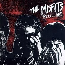 Misfits - Static Age cover