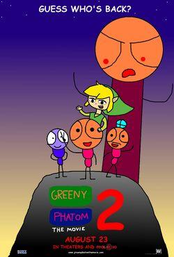 Greeny Phatom The Movie 2 Poster