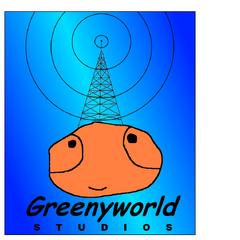 GreenyWorld Studios logo (1997-2013)
