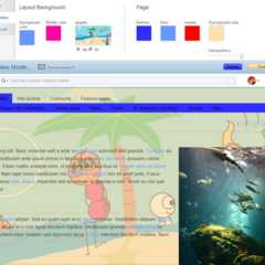 The Summer layout (June 22, 2015 - August 24, 2015)