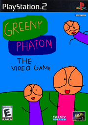 Greeny Phatom The Video Game PS2 cover NTSC