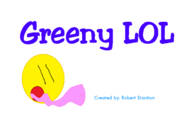 Greeny LOL Title Card (2007-)