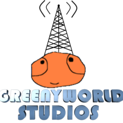 The all-new 2013-present logo used in other GreenyWorld films (including <i>GreenyWorld Powers 2</i>) and the other LGMM movies after <i><a href=