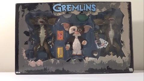 NECA Gremlins Three Figure Set; Stripe, Gizmo, Poker Player Review