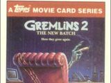 Gremlins 2: The New Batch trading cards