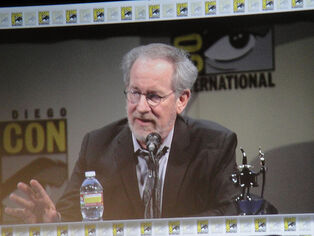 San Diego Comic-Con 2011 - the Adventures of Tin Tin panel - Steven Spielberg
