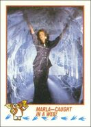 Topps Marla-Caught in a Web!