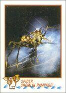 Topps Spider Gremlin Rampage!