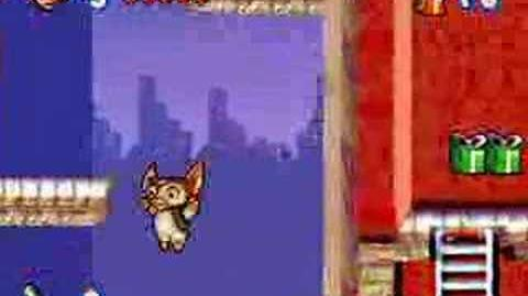 Gremlins - Gizmo vs Stripe gameplay video (GBA)