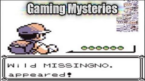 Gaming Mysteries Missingno in the Pokemon Series