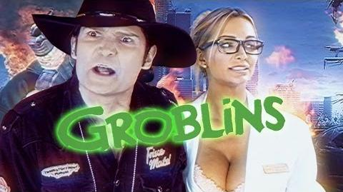 Beware the Groblins! Ft. Corey Feldman, Zach Galligan, and Barbara Crampton (Nerdist Comedy Short)