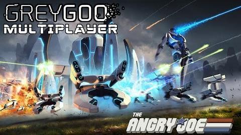 AngryJoe Plays GreyGoo! Multiplayer