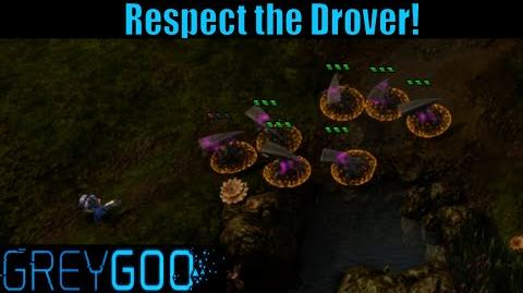 Grey Goo Multiplayer Gameplay - Respect the Drover!