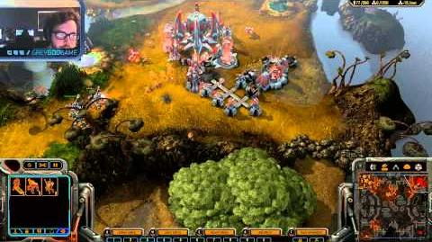 Grey Goo - Developer Gameplay Livestream - 4 Player FFA - Team Tuxedo
