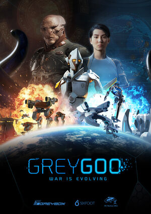 Grey goo poster portrait