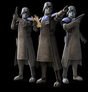 Star Wars Republic Offcers